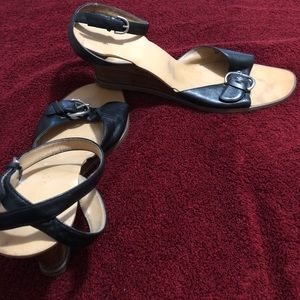 Shoes - Black womens sandals